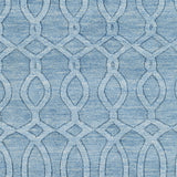 Surya Etching ETC-4984 Sky Blue Area Rug Sample Swatch