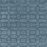 Surya Etching ETC-4986 Teal Area Rug Sample Swatch
