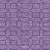 Surya Etching ETC-4990 Bright Purple Hand Loomed Area Rug Sample Swatch