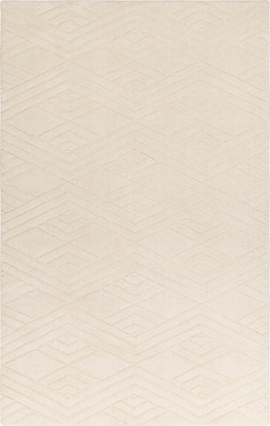 Surya Etching ETC-5004 Cream Area Rug main image