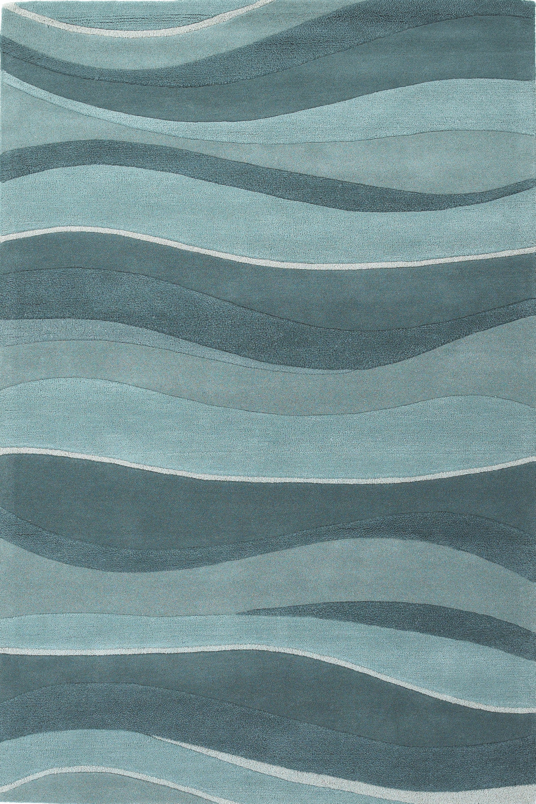 KAS Eternity 1053 Ocean Landscapes Hand Tufted Area Rug