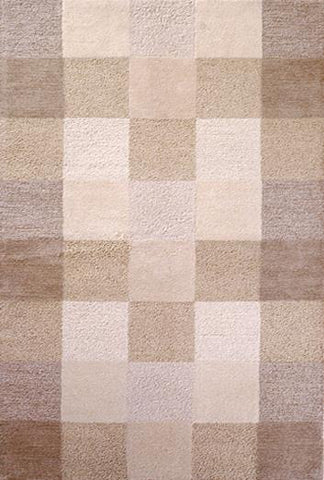 KAS Eternity 1054 Ivory Checkerboard Area Rug main image