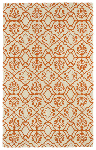 Kaleen Evolution EVL01-89 Orange Area Rug main image