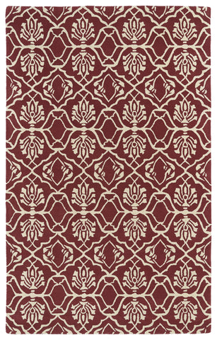 Kaleen Evolution EVL01-93 Berry Area Rug