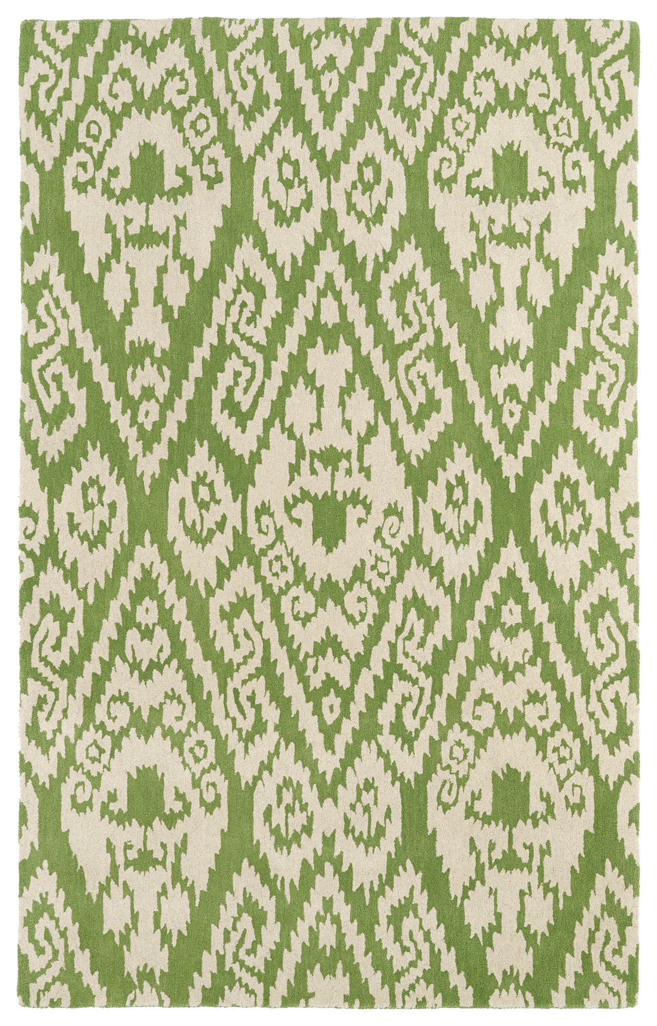 Kaleen Evolution EVL02-50 Green Area Rug main image