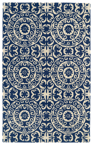 Kaleen Evolution EVL03-22 Navy Area Rug main image