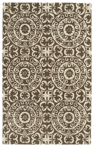 Kaleen Evolution EVL03-49 Brown Area Rug