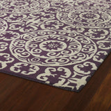 Kaleen Evolution EVL03-95 Purple Hand Tufted Area Rug