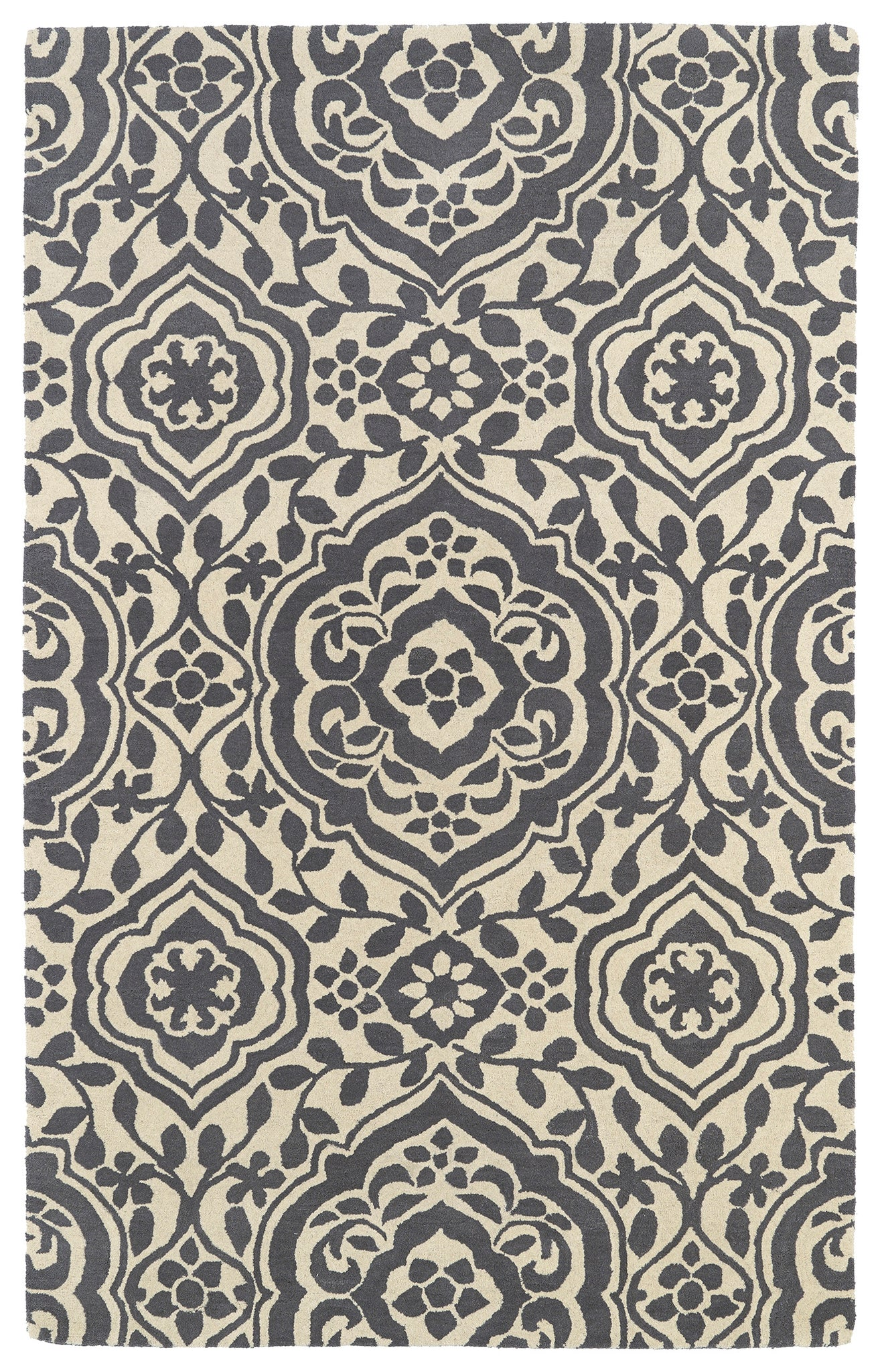 Kaleen Evolution EVL04-75 Grey Area Rug main image