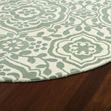 Kaleen Evolution EVL04-88 Mint Area Rug Close-up Shot
