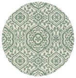 Kaleen Evolution EVL04-88 Mint Area Rug Round Shot