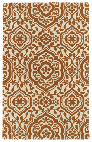 Kaleen Evolution EVL04-89 Orange Area Rug