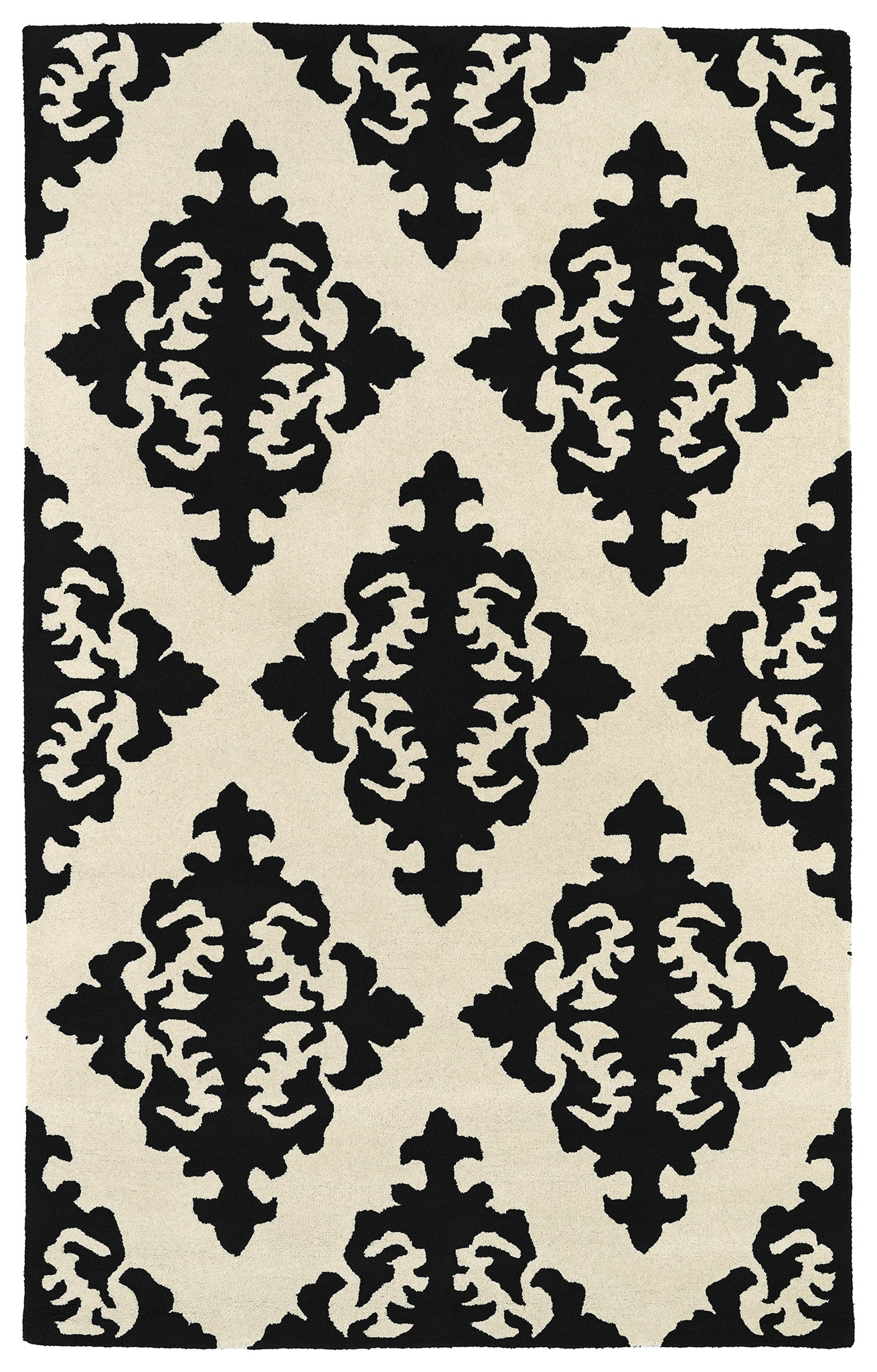 Kaleen Evolution EVL05-02 Black Area Rug main image