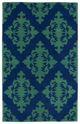 Kaleen Evolution EVL05-22 Navy Area Rug