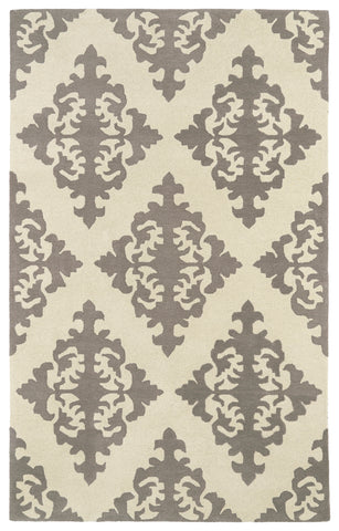 Kaleen Evolution EVL05-75 Grey Area Rug main image