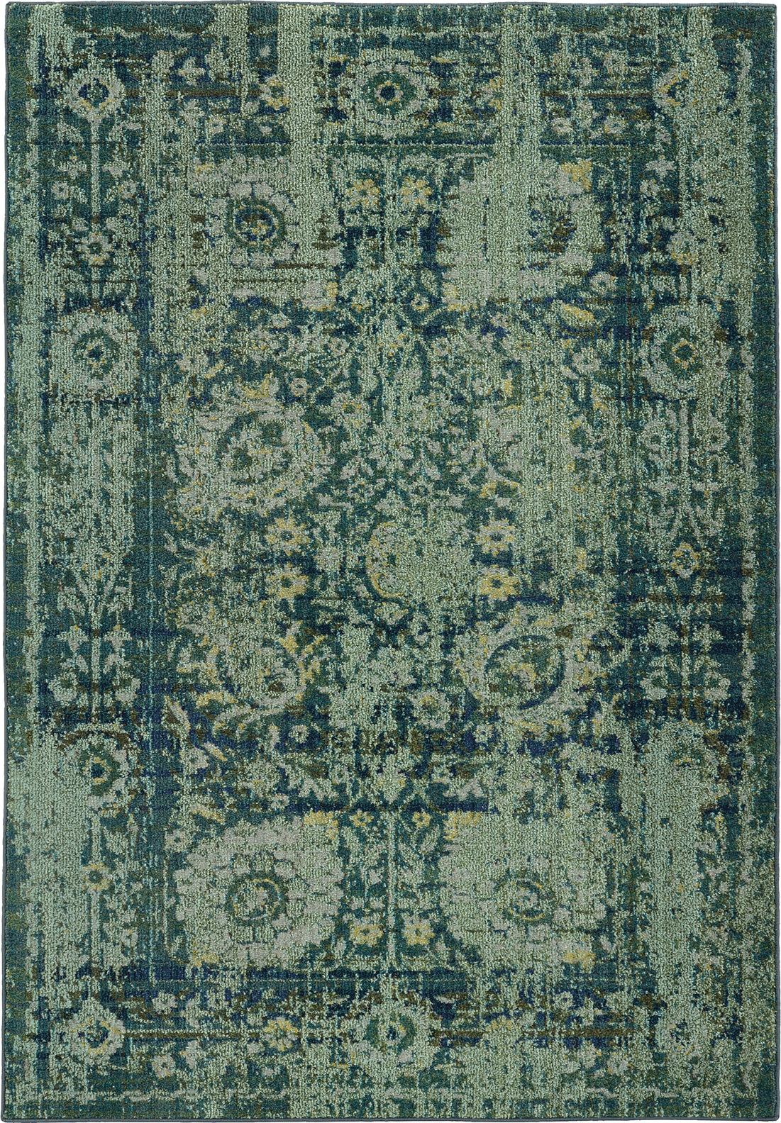Pantone Universe Expressions 3333G Green/Blue Area Rug main image