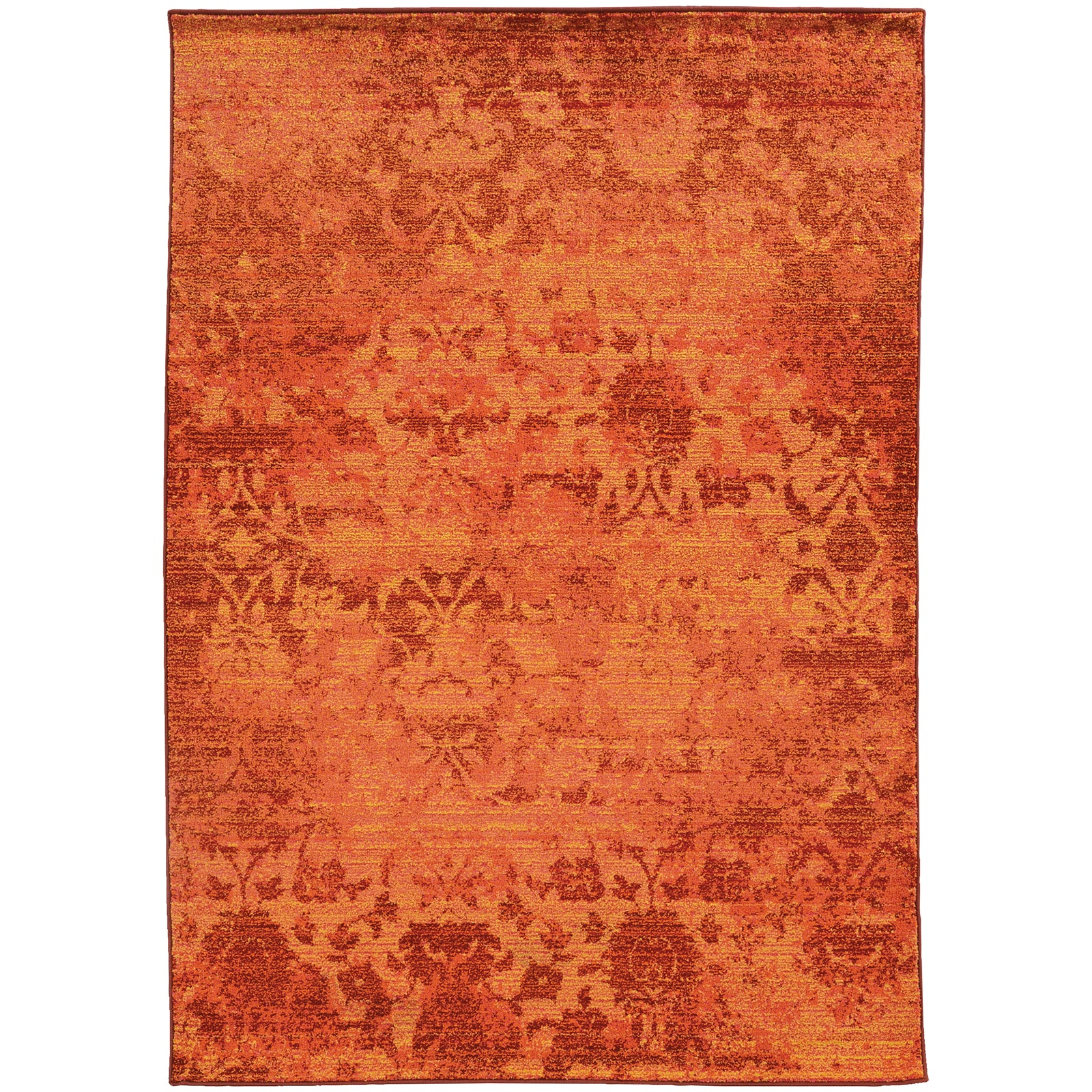 Pantone Universe Expressions 5997C Orange/Yellow Area Rug main image