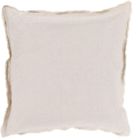 Surya Eyelash Simply Linen EYL-009 Pillow