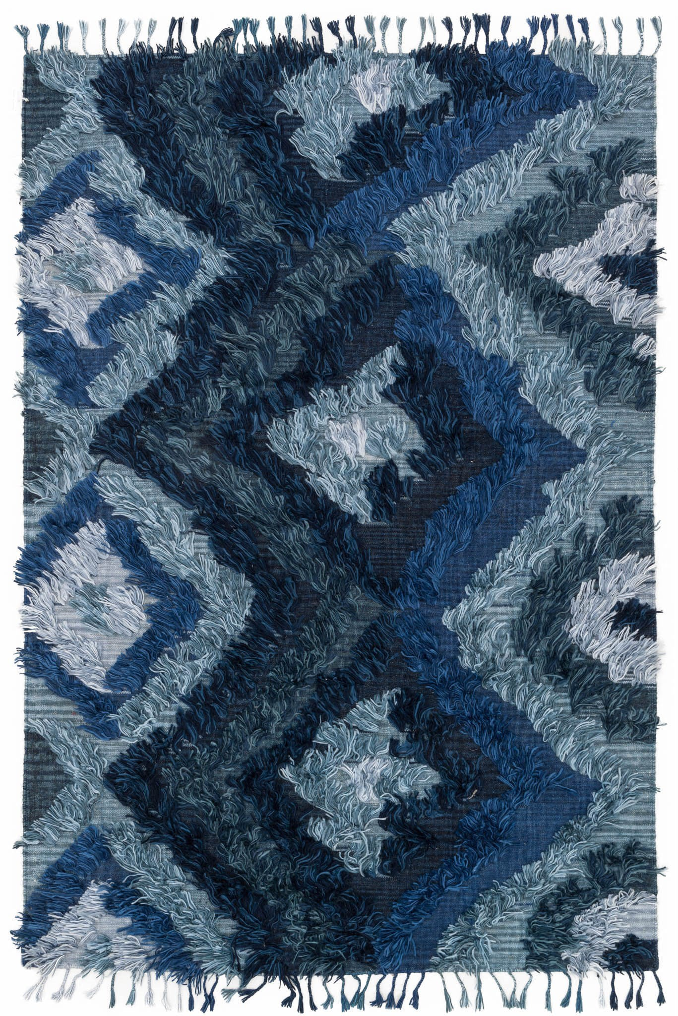 Loloi Fable FD-06 Indigo Area Rug by Justina Blakeney main image