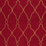 Surya Fallon FAL-1013 Burgundy Hand Woven Area Rug by Jill Rosenwald Sample Swatch