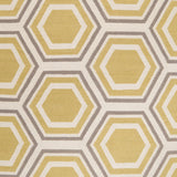 Surya Fallon FAL-1036 Gold Hand Woven Area Rug by Jill Rosenwald Sample Swatch
