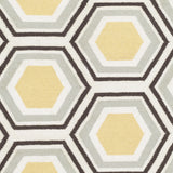 Surya Fallon FAL-1037 Gold Hand Woven Area Rug by Jill Rosenwald Sample Swatch