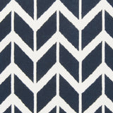 Surya Fallon FAL-1055 Navy Hand Woven Area Rug by Jill Rosenwald Sample Swatch