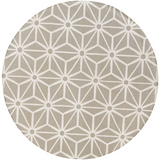 Surya Fallon FAL-1059 Taupe Area Rug by Jill Rosenwald 8' Round