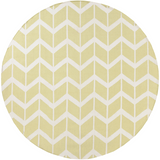 Surya Fallon FAL-1083 Lime Area Rug by Jill Rosenwald 8' Round