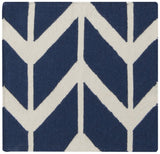Surya Fallon FAL-1093 Cobalt Hand Woven Area Rug by Jill Rosenwald Sample Swatch