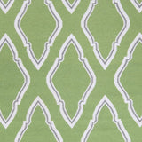 Surya Fallon FAL-1096 Teal Hand Woven Area Rug by Jill Rosenwald Sample Swatch