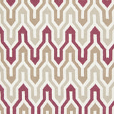 Surya Fallon FAL-1104 Burgundy Hand Woven Area Rug by Jill Rosenwald Sample Swatch