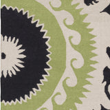 Surya Fallon FAL-1116 Forest Hand Woven Area Rug by Jill Rosenwald Sample Swatch