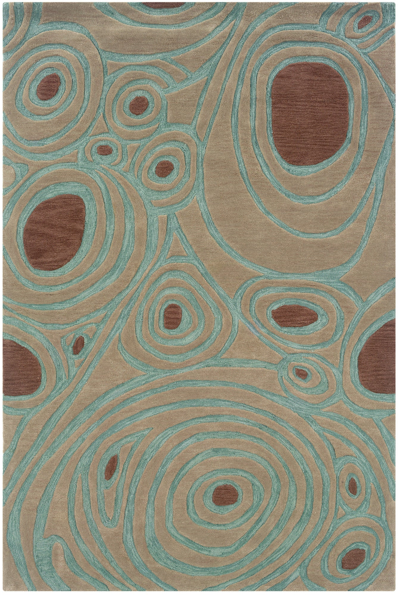 LR Resources Fashion 02505 Natural Area Rug