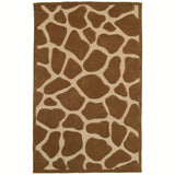 LR Resources Fashion 02515 Natural Hand Tufted Area Rug 5' X 7'9''