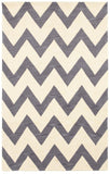LR Resources Fashion 02516 Gray Hand Tufted Area Rug 5' X 7'9''