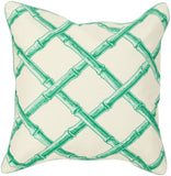 Surya Bamboo Lattice Bold FBB-001 Pillow by Florence Broadhurst