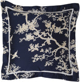 Surya Decorative S Charming Chinoiserie FBC-001 Pillow by Florence Broadhurst 18 X 18 X 4 Down filled