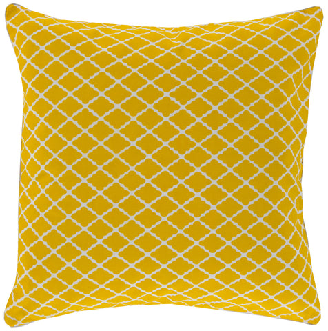 Surya Antique Lattice FBL-001 Pillow by Florence Broadhurst