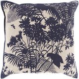 Surya Shadow Floral Isle of Palms FBS-002 Pillow by Florence Broadhurst 20 X 20 X 5 Poly filled