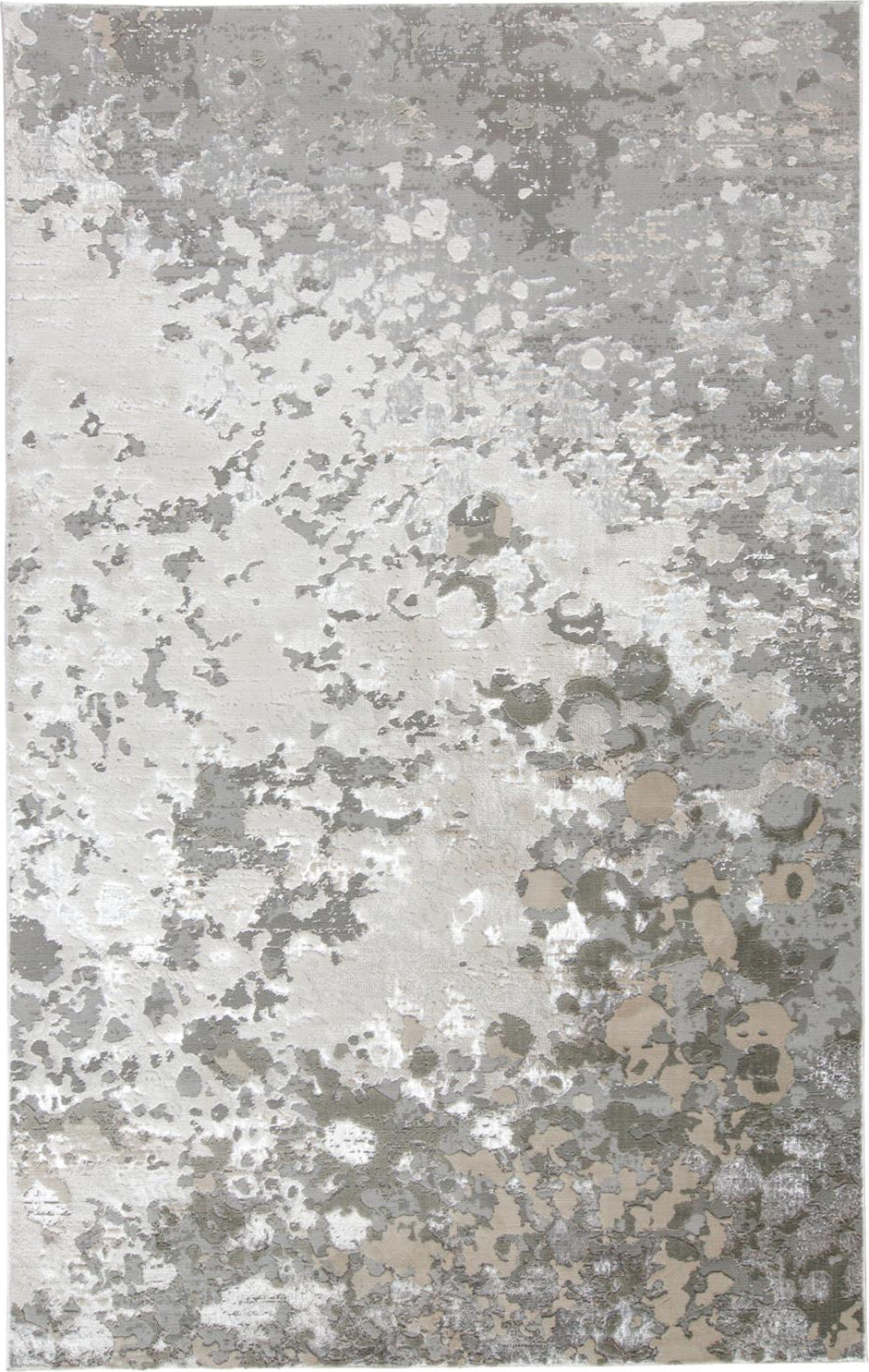 Feizy Micah 3336F Silver/Gray Area Rug main image