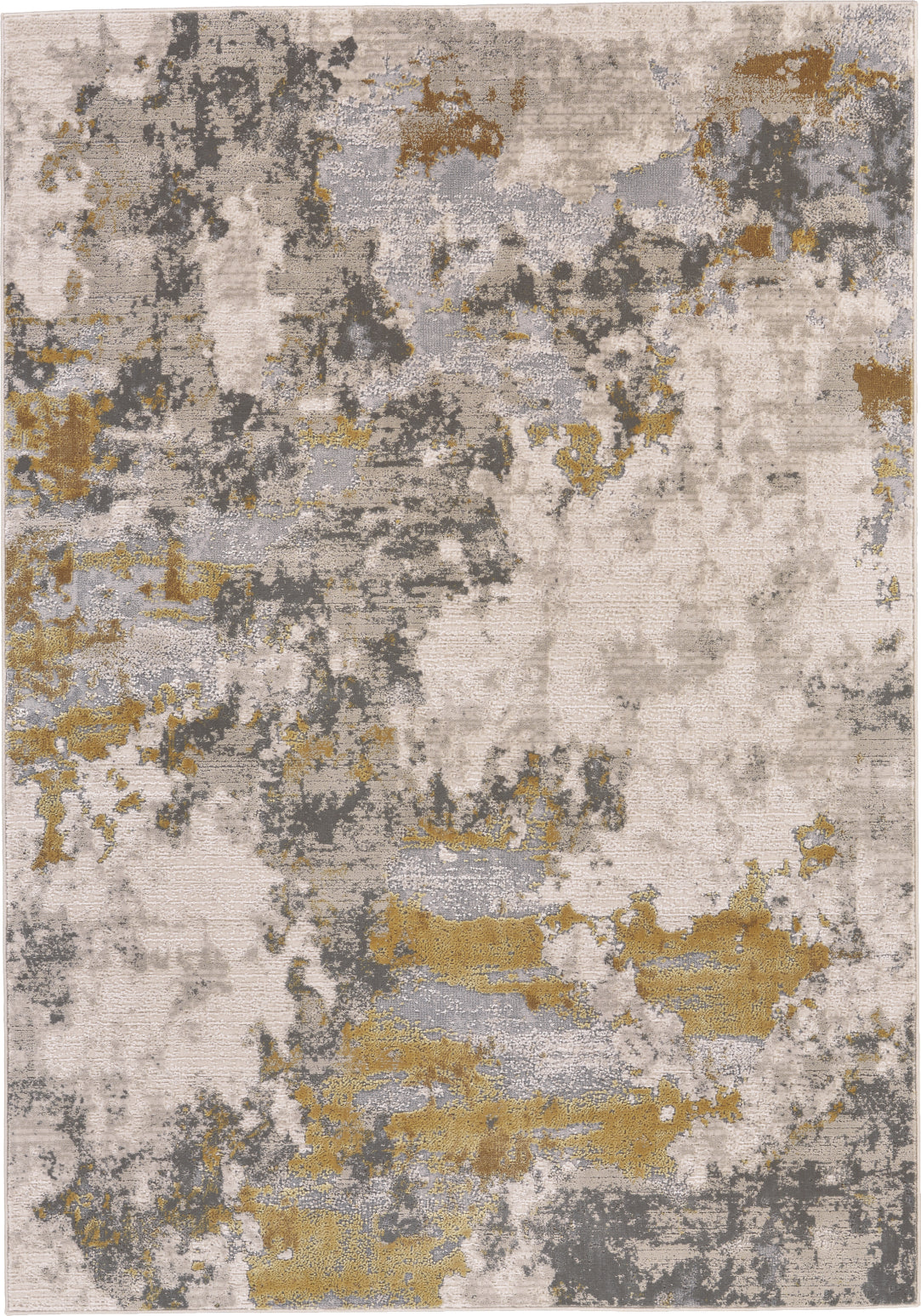 Feizy Waldor 3970F Gold/Birch Area Rug main image