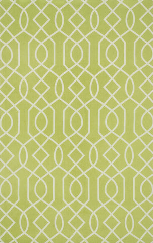 Loloi Felix FX-03 Apple Green / Ivory Area Rug main image