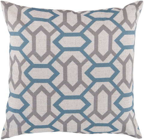 Surya Zoe Connect the Diamonds FF-008 Pillow
