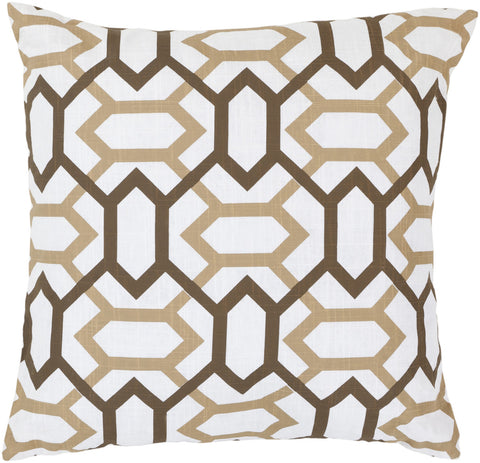 Surya Zoe Connect the Diamonds FF-014 Pillow