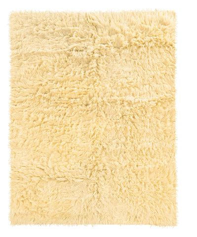 Linon 3A Flokati 2000 grams FLK-3AW Natural Area Rug main image