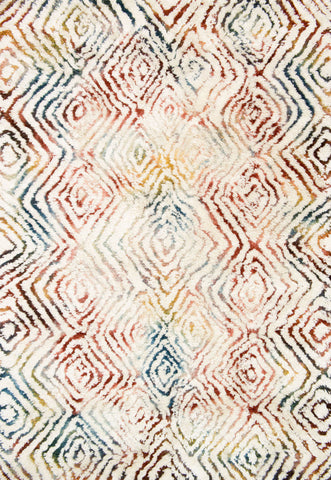 Loloi Folklore FW-03 Ivory / Prism Area Rug by Justina Blakeney main image
