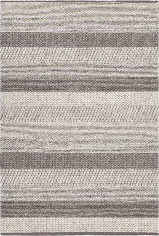 Chandra Forstel FOR-36901 Grey Mix Area Rug main image