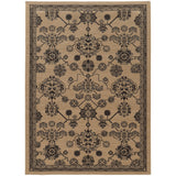 Oriental Weavers FOUNDRY 4923W Beige/ Grey Area Rug Main