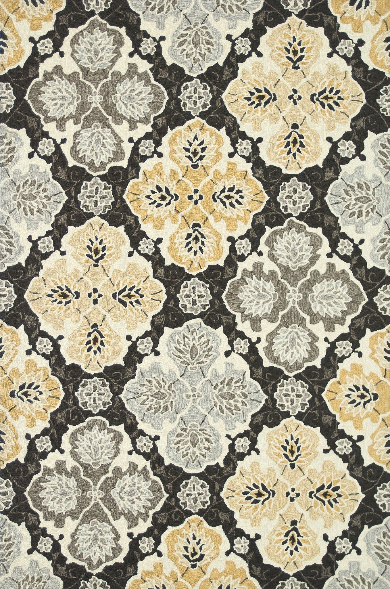 Loloi Francesca FC-25 Charcoal / Multi Area Rug main image